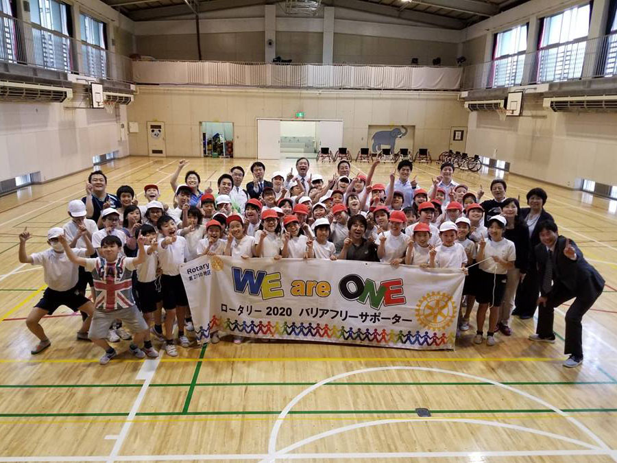 WE are ONE!パラスポーツ体験会実施